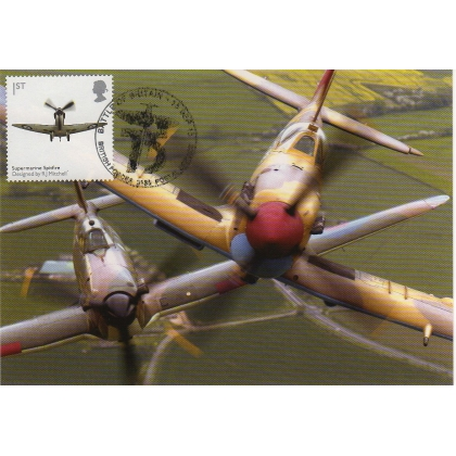 3736x6 Battle of Britain Maximum Card - Spitfire & Hurricane