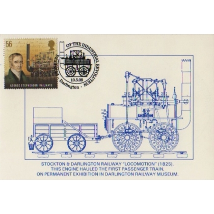 2920x1 George Stephenson Locomotion Maximum Card