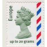 2357b Europe 20g airmail stamp