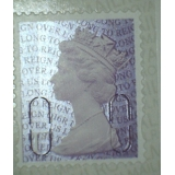 3745a.6 1st purple ex booklet of 6, O1..