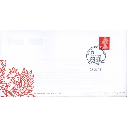 20160728 Machin 1st class red MSIL M16L first day cover 2936S.6