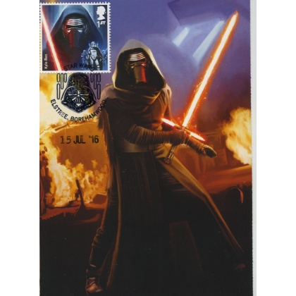 3769 Kylo Ren Maximum Card Star Wars Convention 2016