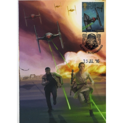 3770-2 Tie-Fighters Maximum Card Star Wars Convention 2016