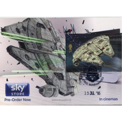 3770-6 Millennium Falcom Maximum Card Star Wars Convention 2016