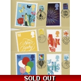 2672 Smilers Booklet Greetings stamps ..