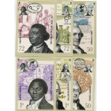 2728 Abolition of Slavery set of 6 PHQ..