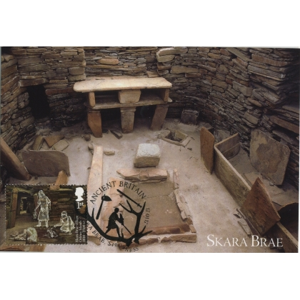 3913x1 Skara Brae World Heritage Site Maximum Card 1