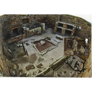 3913x3 Skara Brae World Heritage Site ..