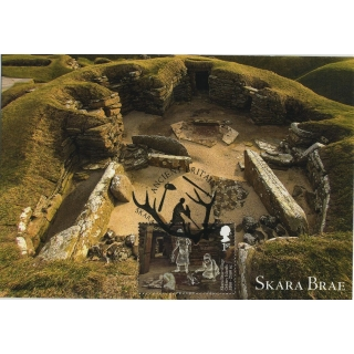 3913x5 Skara Brae World Heritage Site ..