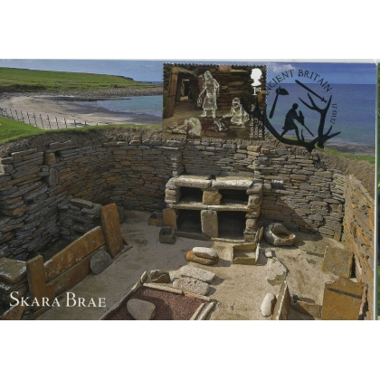 3913x4 Skara Brae World Heritage Site Maximum Card 4