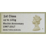 FT13 Machin Faststamps Machin Annivers..