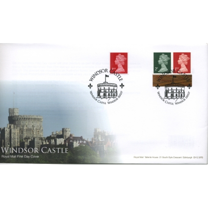 20170215 Windsor Castle PSB & RB definitive first day cover 2017