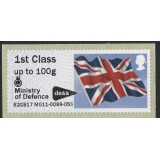 FV21a Union Flag Faststamps M/c M011 M..
