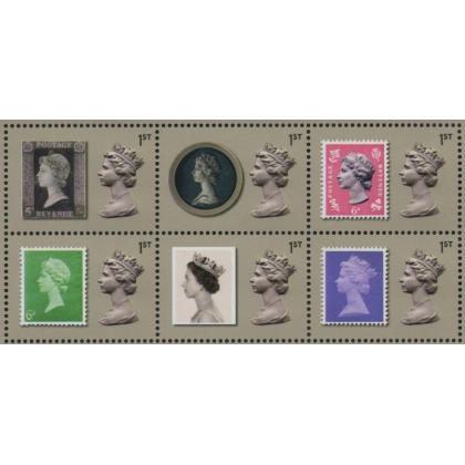 3958-63 Machin Anniversary set of 6 from PSB