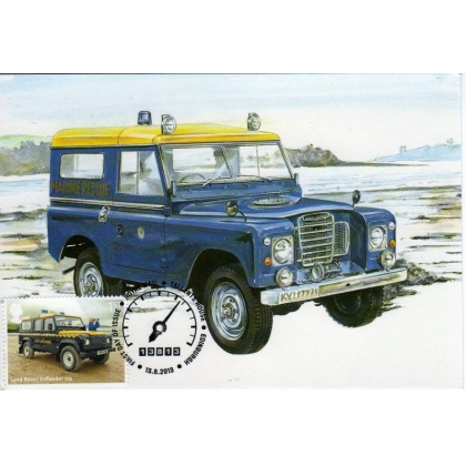 3518d HM Coastguard Land Rover Defender 110 maximum card 2013