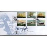 3519 Merchant Navy set on Stampex FDC