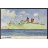 Cunard 'Mauretania' used 1965 colour p..