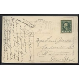 USA 1913 postmark JERSEY SHORE PA on p..