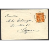 Switzerland 1923 cover Liestal