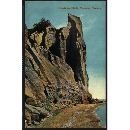 Canada - Scarboro' Bluffs Toronto colour postcard by Valentine