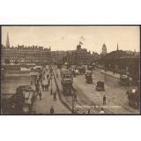 Blackfriars Bridge London postcard, tr..