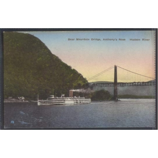 Bear Mountain Bridge Hudson River colo..