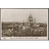 St Paul's Cathedral and City of London..
