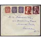 Portugal 1948 cover to London