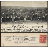 Panorama of Wilkes-Barre, PA, USA 1905..
