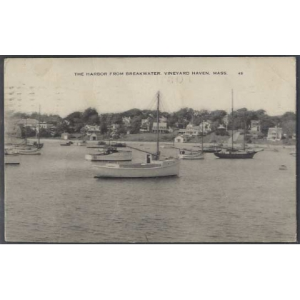 The Harbour, Vineyard Haven, Mass 1938