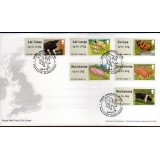 FS07nf Pigs Faststamps set on FDC Winc..