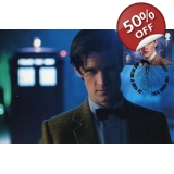 Dr Who Maximum card Matt Smith in fron..