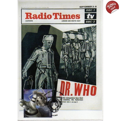 Dr Who Maximum Card Cyberman Radio Times