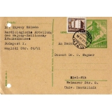 Hungary Postal Stationery Postcard 1958