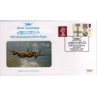 Avro Lancaster 50th Anniversary cover