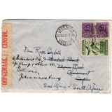 Mexico - South Africa 1942 Censored co..