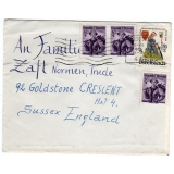 Austria 1958 cover to England