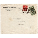 France 1924 cover to Switzerland
