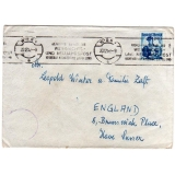 Austria 1952 cover to England, censored