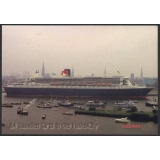 Queen Mary 2 visit to Hamburg 2004 pos..
