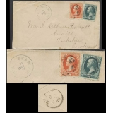 Sea Plain NJ USA 1878 5c cover to Engl..