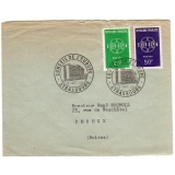 France 1959 Europa pair Strasbourg fir..