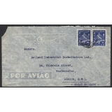 Portugal airmail 1940s to London