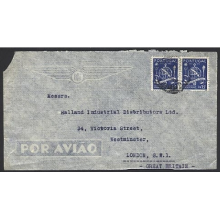 Portugal airmail 1940s ..