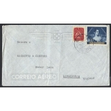 Portugal 1953 airmail cover to Birming..