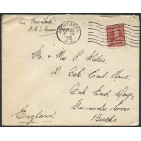 Canada 1936 letter per RMS Queen Mary ..
