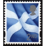 S130 2nd class Scotland litho print by..