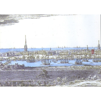 South-West Prospect of Yarmouth postcard