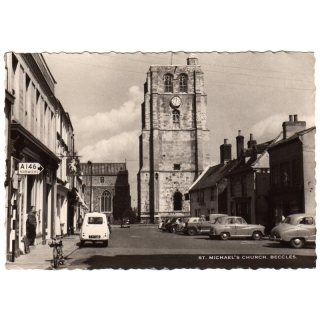 St Michaels Church, Beccles RP 1950s