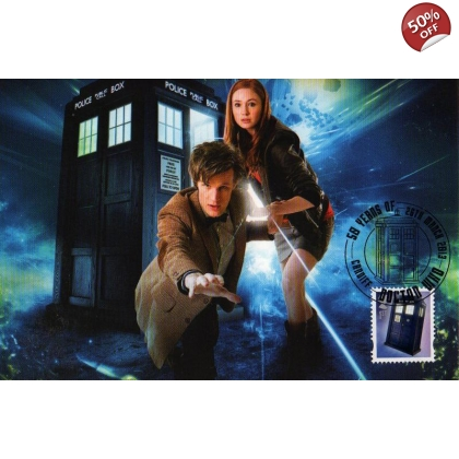 Dr Who Maximum card - Tardis 11